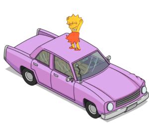 lisa simpson, simpsons, and pink image