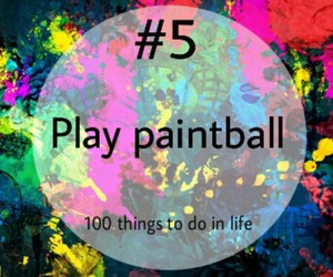 paintball, 5, and play image
