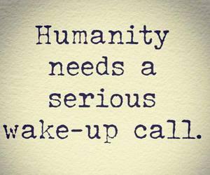 humanity and wake-up image