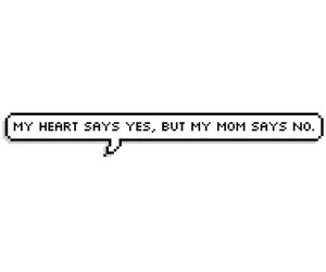 funny, heart, and mom image