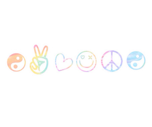 colors, peace, and heart image