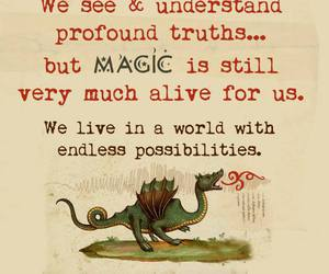 quote, infj, and magic image