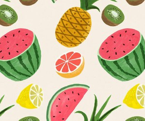 background, lime, and watermelon image