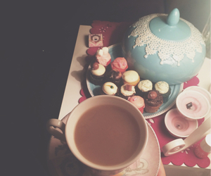 arabic, coffee, and cupcake image
