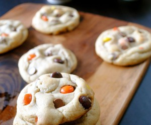chocolate, Cookies, and reese's image