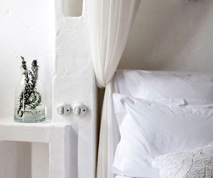 bed, bedroom, and italian image