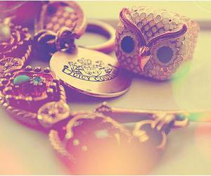 owl, jewelry, and juicy couture image