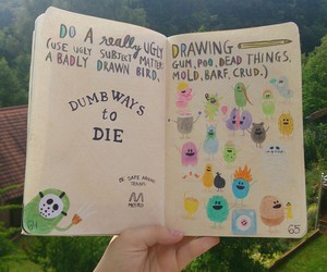 wreck this journal and cute image