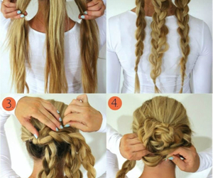 blonde, hair ideas, and ideas image