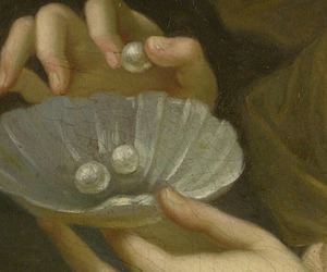allegory, painting, and pearls image