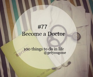 doctor, life, and Dream image