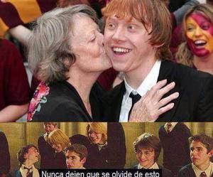 harry potter, laugh, and maggie smith image