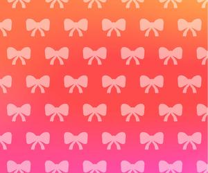 background, bow, and Georgina image