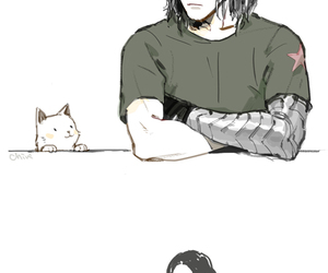 bucky and Marvel image