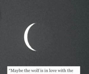 moon, sad, and thoughts image