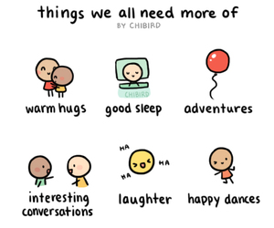 hug, happy, and adventure image