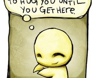 hug, pretend, and pon image