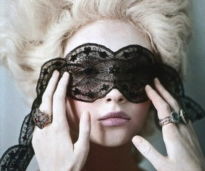 lace, marie antoinette, and model image