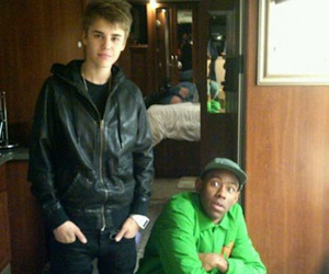 justin bieber and tyler the creator image