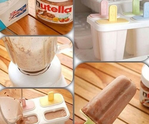 nutella, diy, and food image