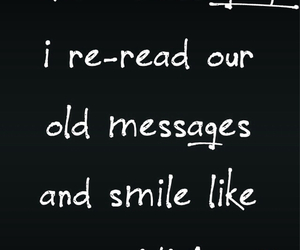 smile and message image