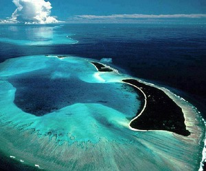 ocean, Island, and blue image