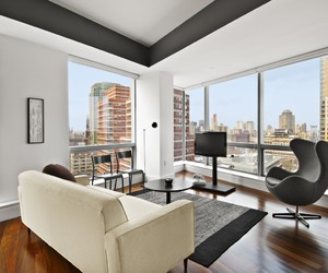 apartment, city, and decor image