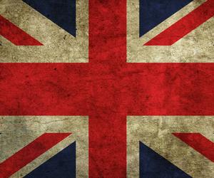 flag, uk, and union jack image