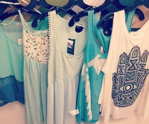 fashion, clothes, and blue image