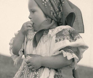 babygirl, black and white, and slovakia image