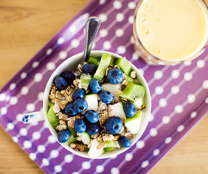 breakfast, healthy, and blueberry image