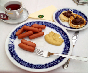 breakfast, delicious, and tasty image