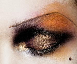 John Galliano, make up, and eye image