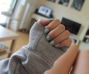 quality, tumblr, and nails image