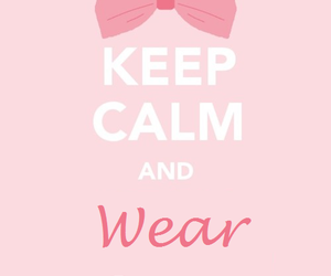 girly, cute, and keep calm image