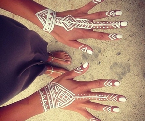 accessories, art, and nail image