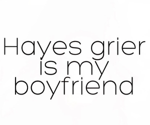 boyfriend, grier, and hayes grier image