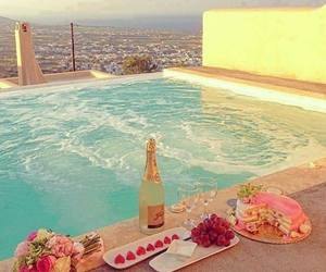 cool, pool, and honeymoon image