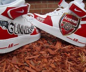 Arsenal and nike airs image