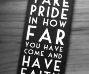 quotes, pride, and faith image