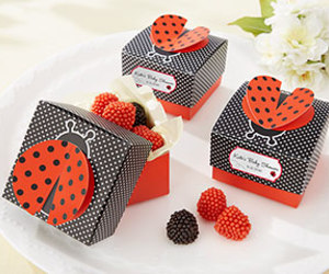 decorations, personalized favors, and party favors image