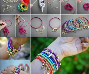 diy, bracelet, and colors image
