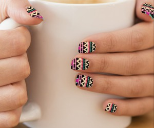 nail art, nails, and women image