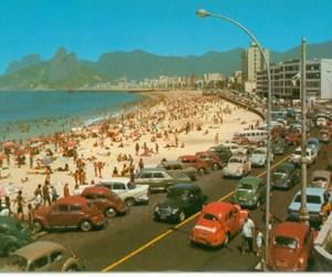 beach, rio de janeiro, and car image