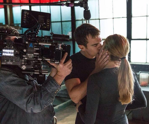 divergent, Shailene Woodley, and theo james image