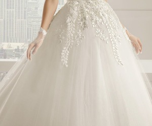 wedding, wedding dress, and dress image