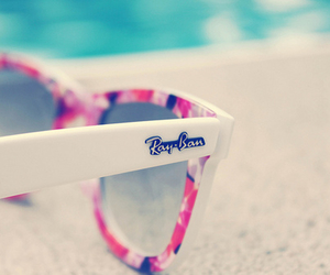rayban, sunglasses, and summer image