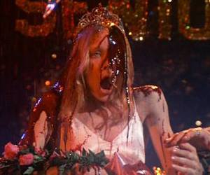 carrie, 90s, and blood image