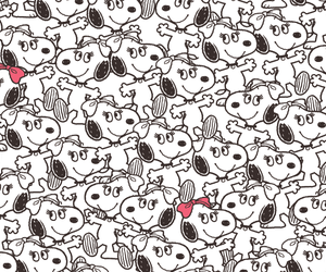 snoopy, dog, and wallpaper image