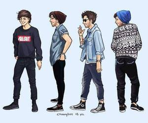 louis tomlinson, one direction, and style image